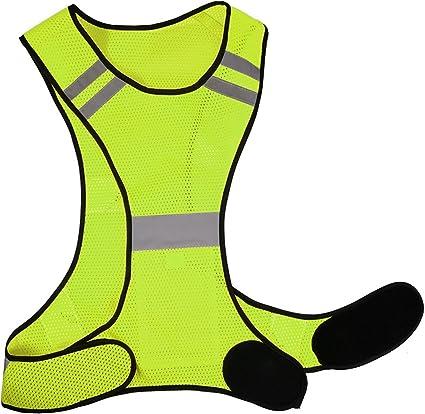 Outdoor-Sport Laufweste Reflektierende Warnweste Reflektor Jogging Fahrrad Weste