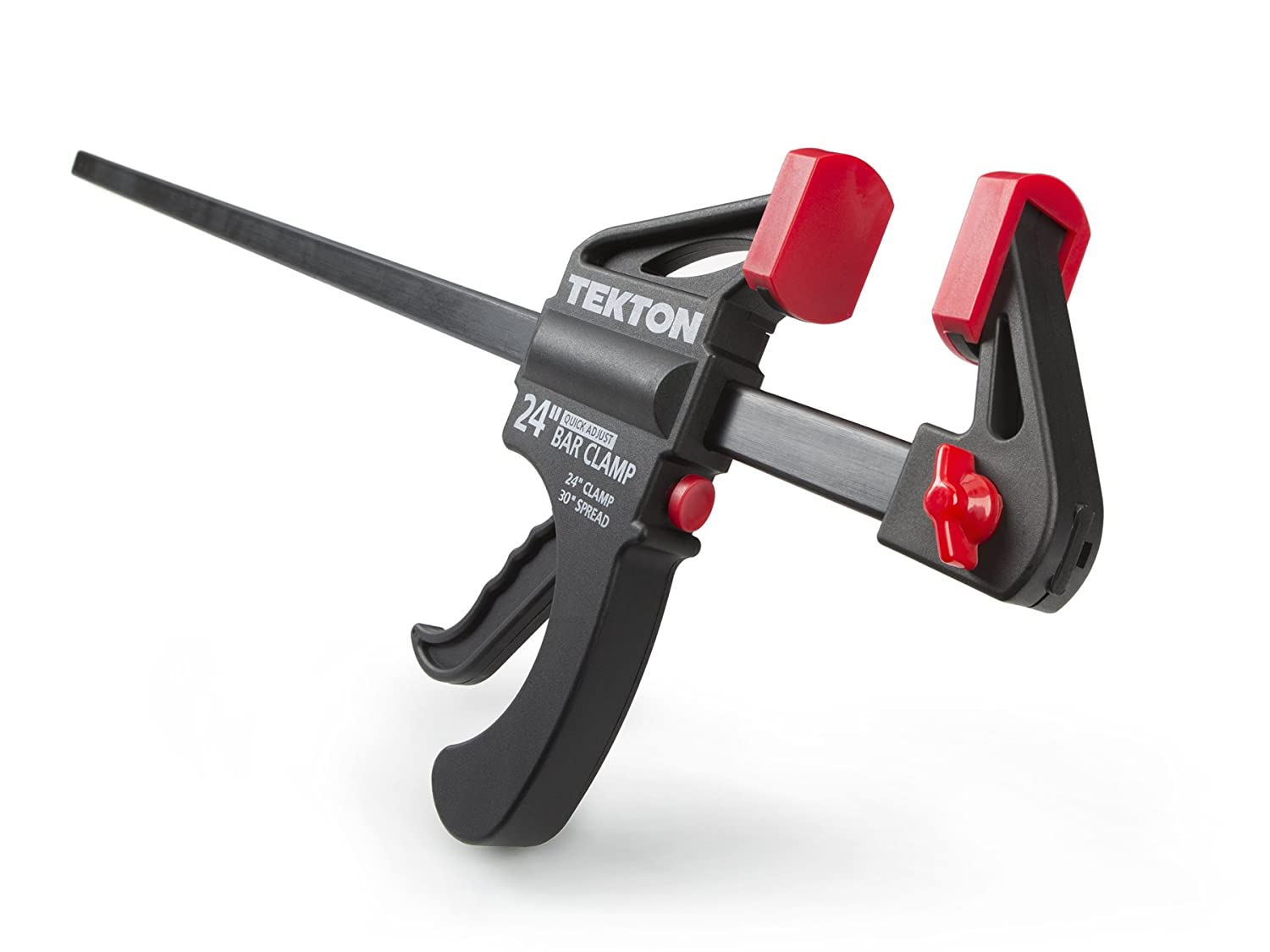 TEKTON 24-Inch x 2-1/2-Inch Ratchet Bar Clamp and 30-Inch Spreader | 39184