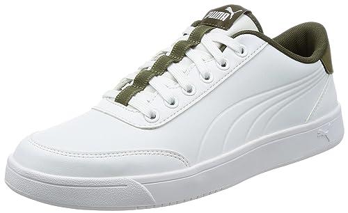 zapatos pumas hombre blancos