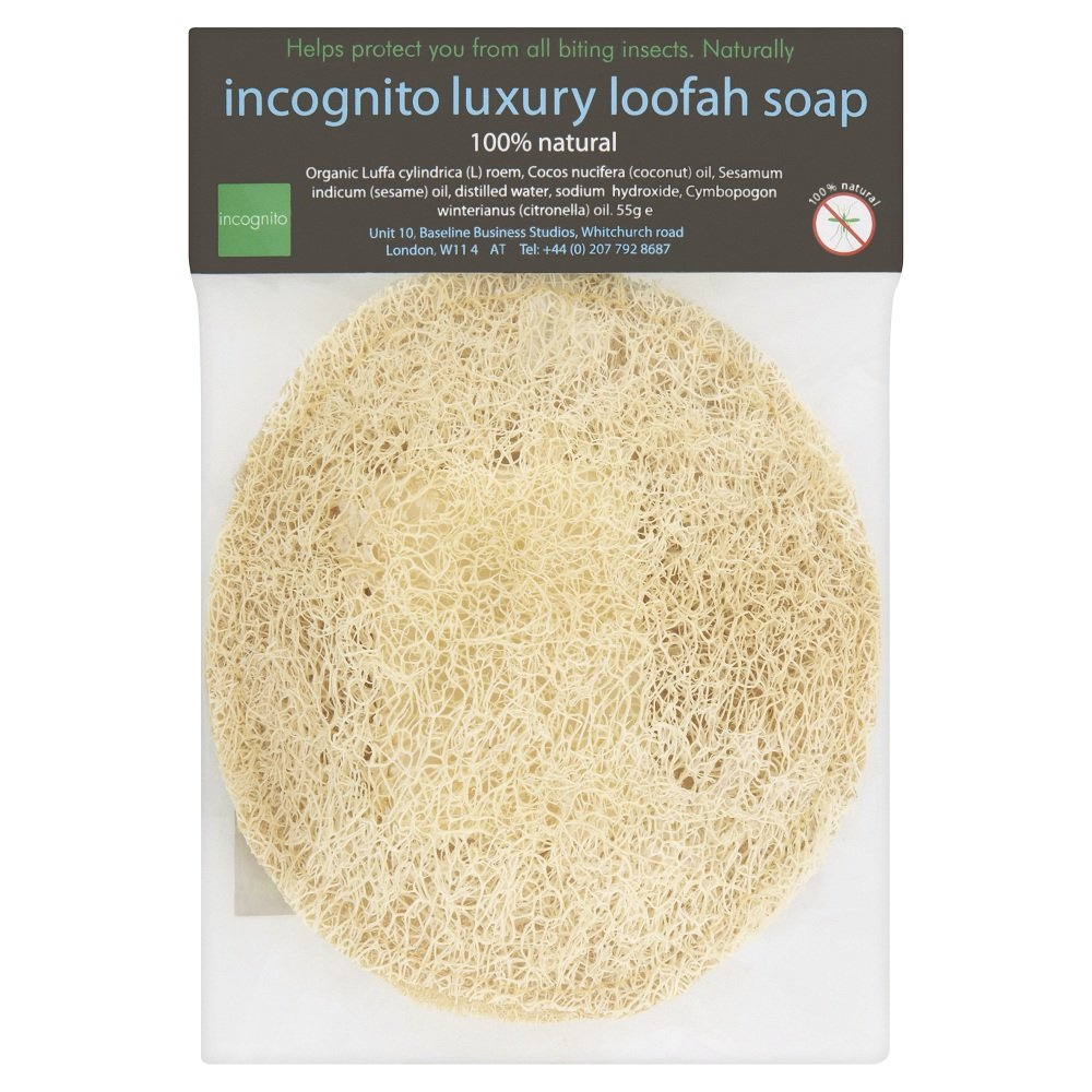 Incognito Luxury Loofah Soap 55g 50601644 50023