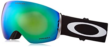 oakley ski goggles flight deck gzve  Oakley Flight Deck Snow Goggle, Matte Black, Jade Iridium