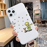 Cartoon The Little Prince Case para el iPhone X XR XS MAX PRO 6 6S PLUS 7 8 8PLUS BLANCO MATE CUBIERTA DE SILICÓN SOFT…