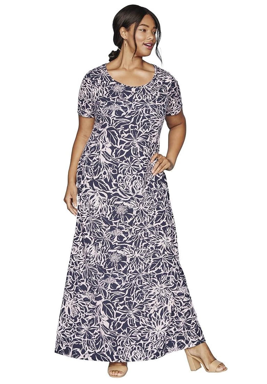 Outlet Jessica London Womens Plus Size Tee Shirt Maxi Dress Www