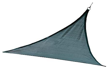 ShelterLogic 25733 Sail Heavyweight 12 x 12 ft. Triangle Sea Blue Sun Shade, 12 x 12 ,