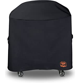 Yukon Glory 8269 Premium Grill Cover for Weber Stephen Liquid Propane Grill Compared to Weber 7113
