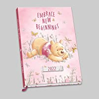 Official Winnie The Pooh 2022 Diary - Week To View A5 Size Diary