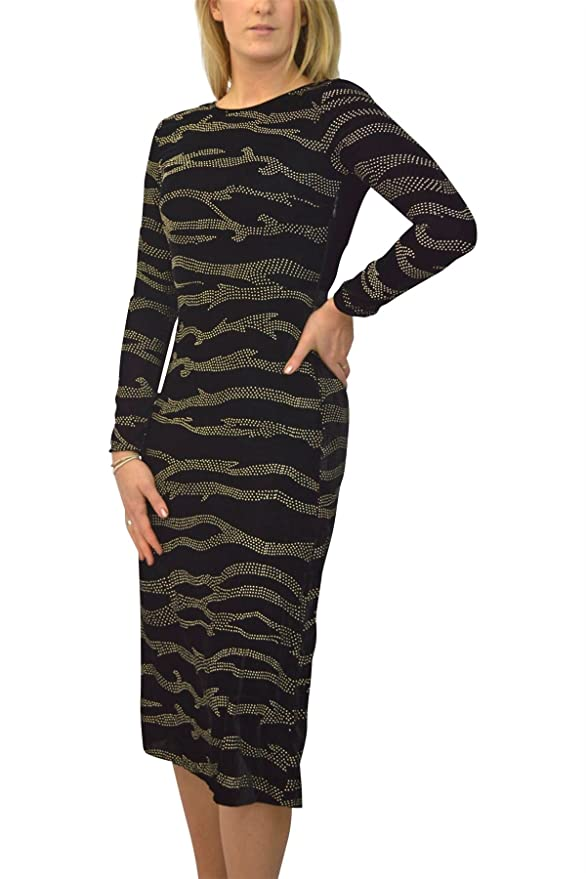 Top Shop Black Gold Swirl Velvet Maxi Dress Lace Back Party Prom at Amazon Womens Clothing store: