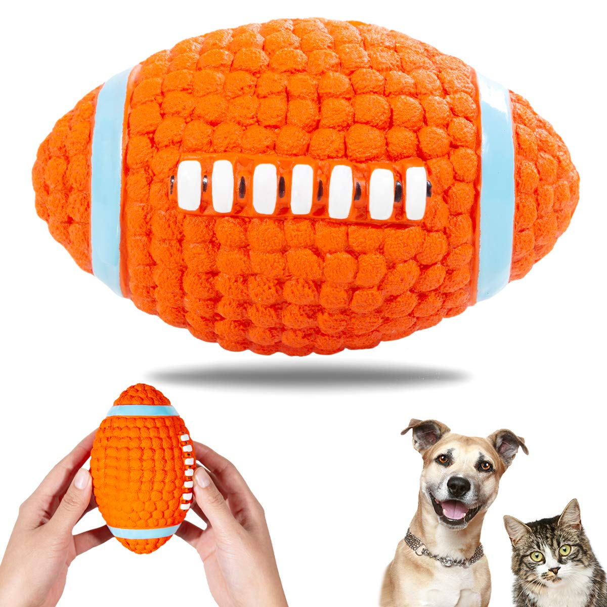 Pet Products Precise Puppy Dog Toys Ball For Dog Pet Colorful Bell Ball Chew Toys Teeth Training Pet Toy Rubber Balls Pet Interactive Toys