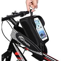 Toptrek Bolsa Bicicleta para el Manillar Impermeable Bolsa
