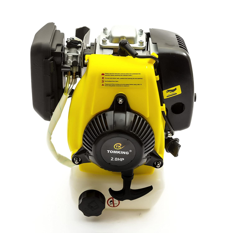 Tomking Outboard Motor Engine 2hp 4 Stroke 53cc Pullstart Fits Honda GXH50  Repair 4T: Amazon.co.uk: Car & Motorbike