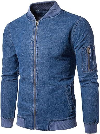 Originaux Uni Printemps Garçon Manteau Veste Jacket Bomber Aviateur Outwear Saison Longra Mi Blouson Homme j354RAL