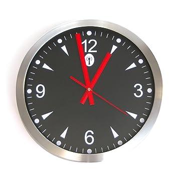 Reloj De Pared De vevendo - Reloj de Estación de Tren - Radio reloj ...