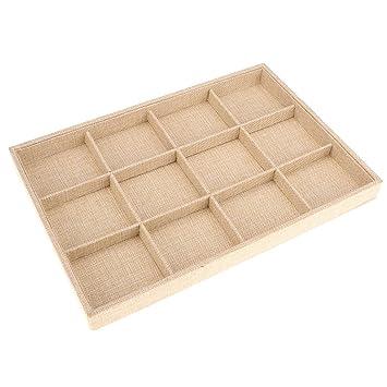 D DOLITY Caja de Almacenamiento con Almohadas Estuche de Disfraces Unisexo Cajas Decorativas Beige: Amazon.es: Hogar