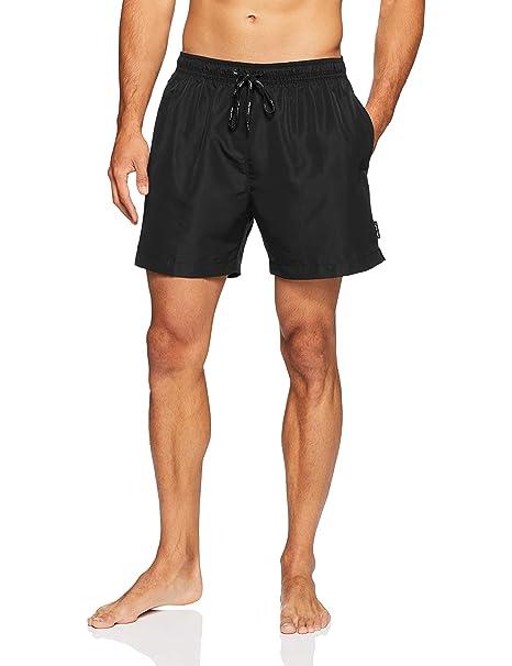c85b19d705 Calvin Klein Mens Swim Shorts (Black) S: Amazon.co.uk: Clothing