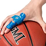 Kuangmi Finger Sleeve Support Protector Prevents Finger Injury During Sports 1 Piece (Blue, S/M)
