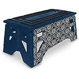 Amazon Com Kikkerland Rhino Easy Fold Step Stool Short