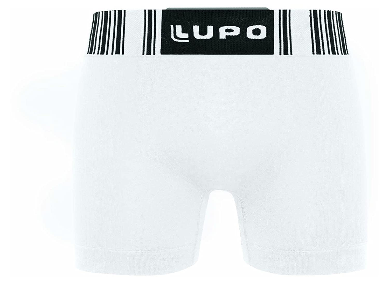 Lupo Luta Mens Seamless Microfiber Boxer Brief Underwear