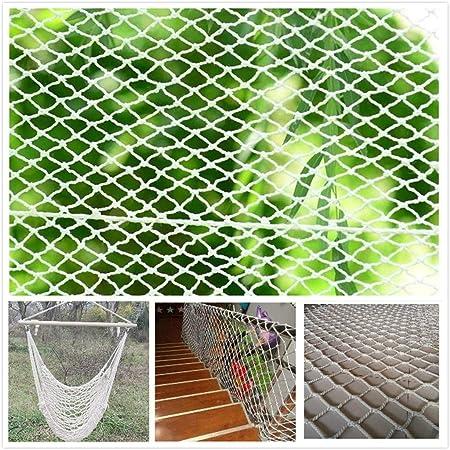 Red de Seguridad Red de Protección de Balcón Red Protectora,Red de Nailon for Protección de Gatos, Red de Protección Duradero Red de Seguridad Escaleras Malla Tejida for Escaleras Balcones Terrazas Pu: Amazon.es: