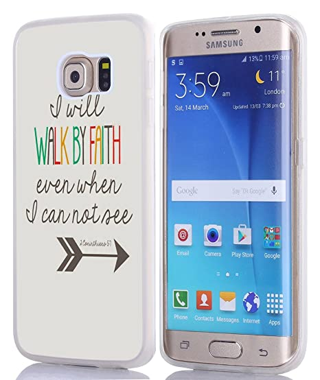 5f37d1b0f Image Unavailable. Image not available for. Color  S6 Edge Plus Case  Christian Quotes