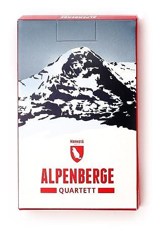 Berge Um Freiburg Karte.Marmota Maps Alpenberge Quartett 32 Berge Aus Allen Alpenlandern Kartenspiel