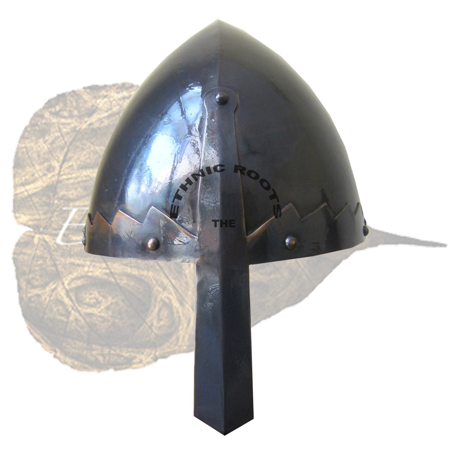 Norman Nasenapplikator Helm Replica re enactment-Rollenspiel larp Inklusive Ständer