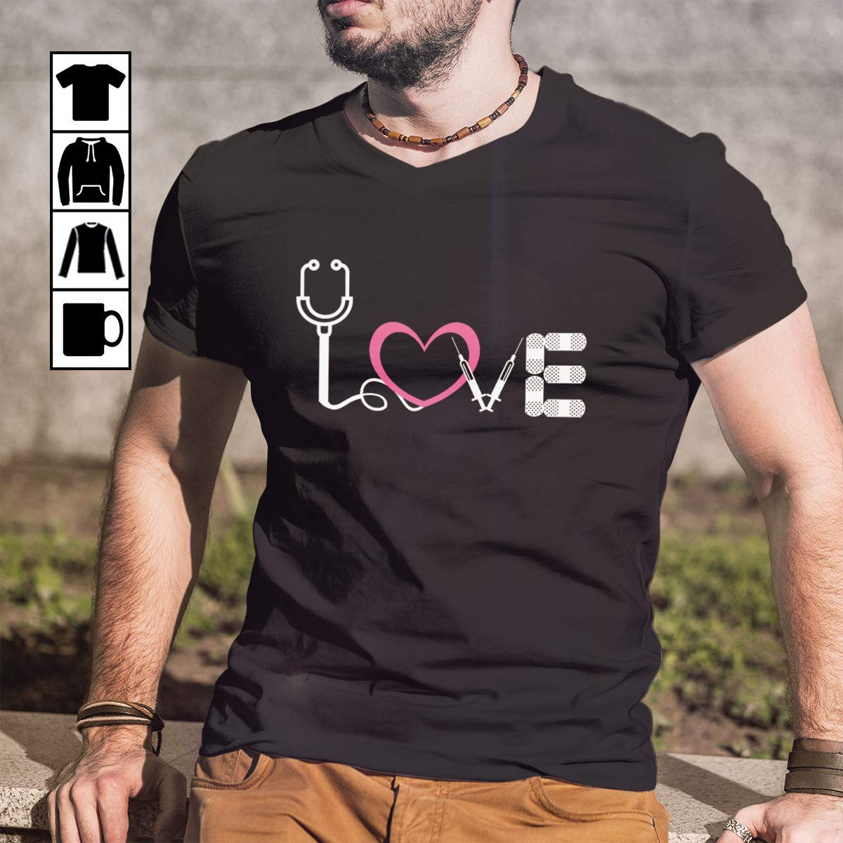 Doctor Love Medical For Nurse And Doctor Youth Shirts