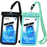 Amazon Price History for:Mpow Universal Waterproof Case, IPX8 Waterproof Phone Pouch Dry Bag for iPhone X/8/8plus/7/7plus/6s/6/6s plus Samsung galaxy s8/s7 Google Pixel HTC10 (Black,Blue 2-Pack)