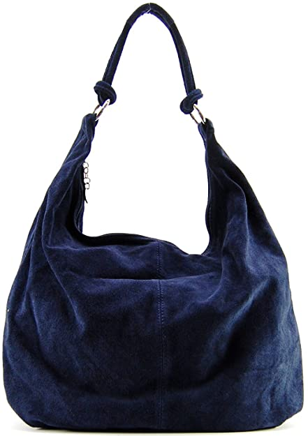 OH MY BAG Sac à main en cuir Love bleu fonce SOLDES  Amazon.fr ... f421b630244d