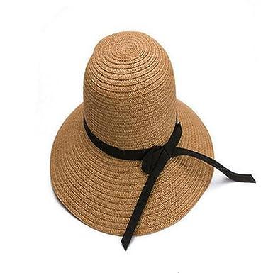 Women s Beach Sun Hats 2018 Fashion Visor Large Brimmed Straw Sun hat  Folding Wholesale Sun hat 9fc1b9e0f5a5