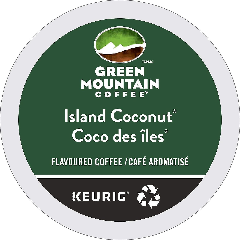 Green mountain coffee island coconut ground