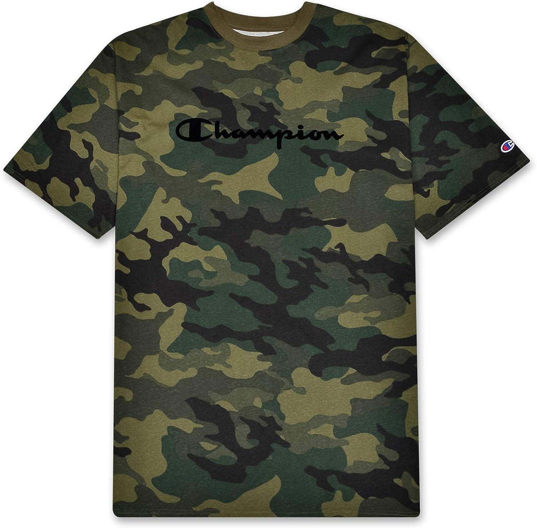 Champion Shirts Athletic Big and Tall Mens Camo Shirt T Shirts for Men