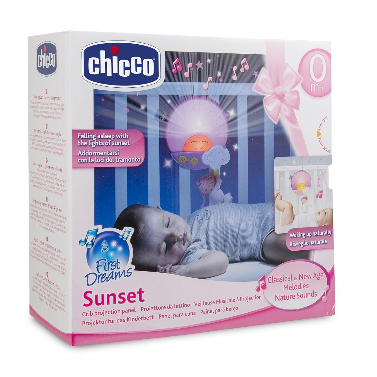 Chicco - Proyector Sunset panel, color azul (00006992200000 ...