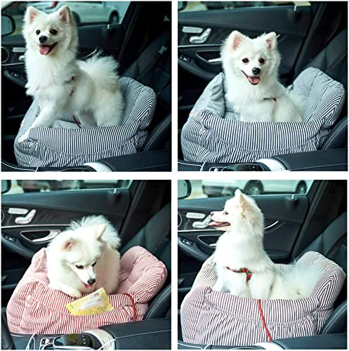 Best Dog Bed For Travel: BLOBLO Dog Car Seat Pet Booster Seat Pet Travel Safety Car Seat Dog Bed