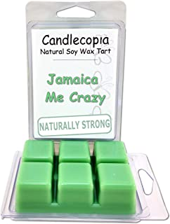 product image for Candlecopia Jamaica Me Crazy Strongly Scented Hand Poured Vegan Wax Melts, 12 Scented Wax Cubes, 6.4 Ounces in 2 x 6-Packs
