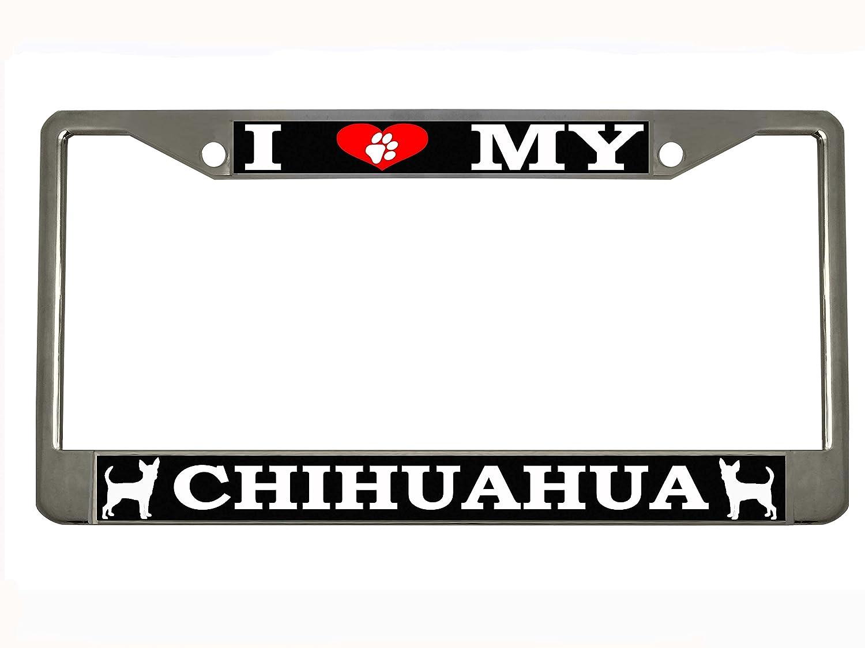CUBAN FLAG CUBAN CHROME HEAVY DUTY License Plate Frame New  Tag Holder