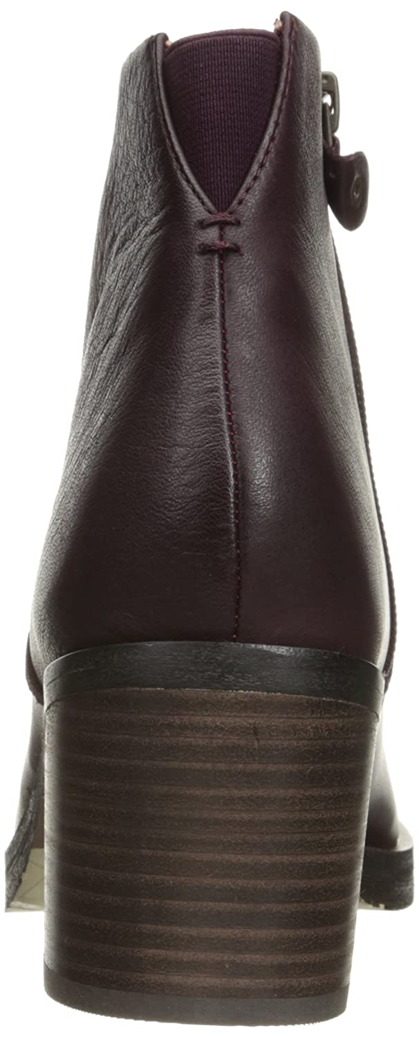 Gentle Souls by Kenneth Cole Women's Blakely Ankle Bootie B01CH3V010 8.5 B(M) US|Merlot
