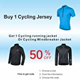 Bpbtti Men's SS Bike Biking Shirt Solid Color