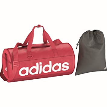 d6e3748981 adidas Linear Performance Sac de Sport Femme, Joy/Blanc, S: Amazon ...