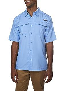 905be5e263e Swiss Alps Mens Short Sleeve Lightweight Breathable Outdoor Fishing Shirt