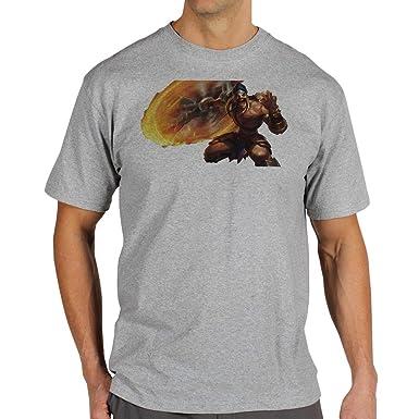 League Of Legends Champion Character Art Draven XXL Herren T-Shirt