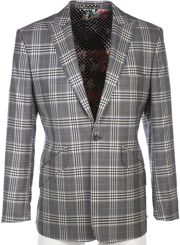 William Hunt Suit 90's IP3 in Grey P.O.W