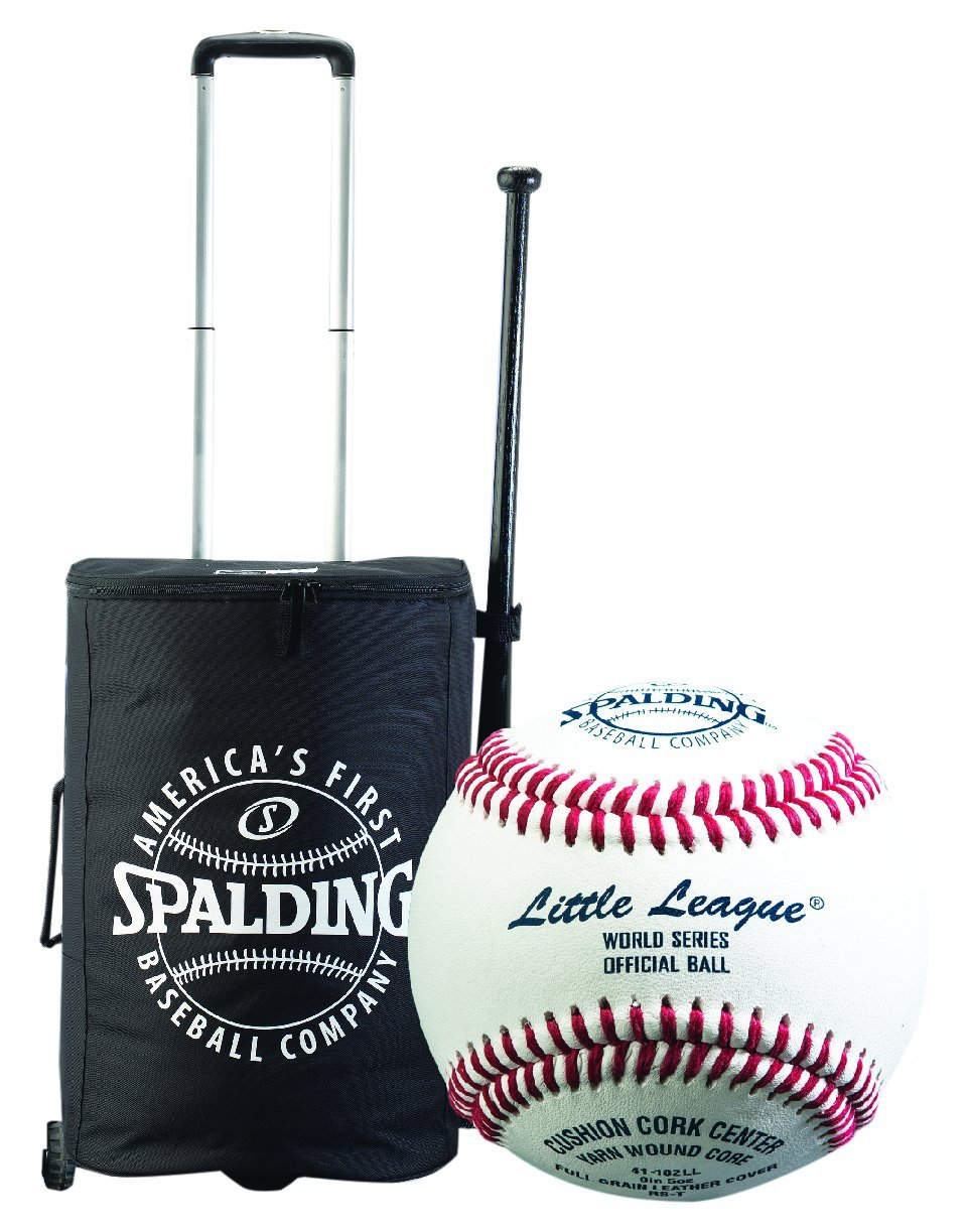 Spalding Little League Official Tournament Baseball Package (2 Dozen RS-T Baseballs and 1 Roller Bag Combo) by Spalding