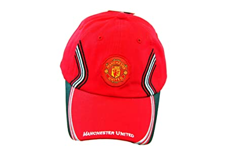c514d6b3ba8 Image Unavailable. Image not available for. Color  RHINOX FC MANCHESTER  UNITED OFFICIAL TEAM LOGO CAP   HAT ...