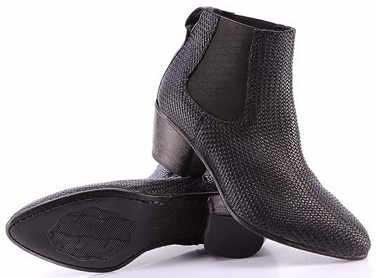 Damen Schuhe Stiefeletten Moma 49513 1a Cang Intr Micro Leder