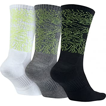 Nike 3Ppk Dri-Fit Triple Fly C Pack 3 Pares de Calcetines, Hombre,