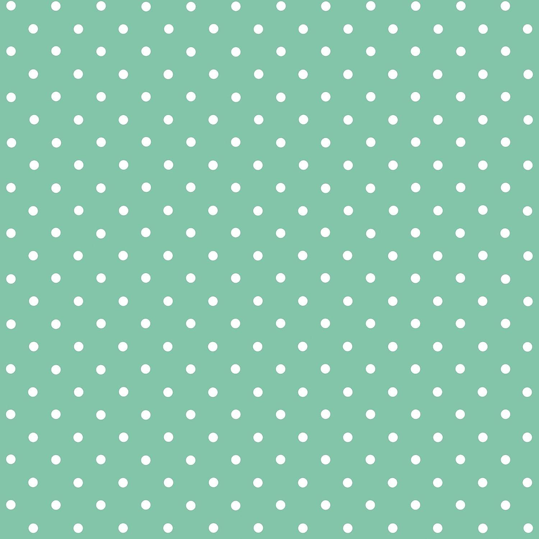 DC Fix 346-0648 Mint Polka Dot Adhesive Film