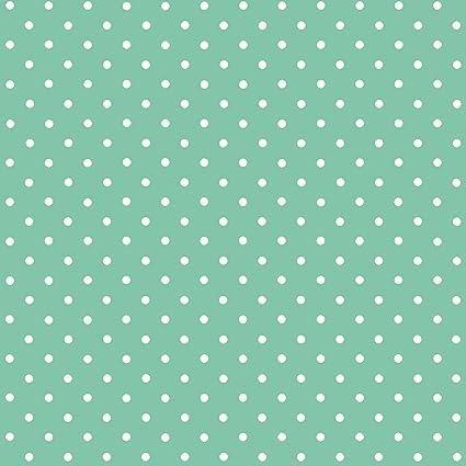 b62119595a dc-Fix® 346-0648 - Pellicola Adesiva in Vinile a Pois Bianchi, Colore del  Fondo: Verde Menta, Dimensioni: 45 cm x 2 cm