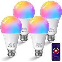 Bombilla LED Inteligente WiFi, AISIRER 10W 1000 Lúmenes E27 Lámpara, WiFi Bombilla…