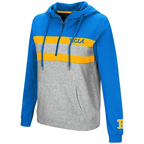 Amazon.com   Colosseum Womens UCLA Bruins Quarter Zip Pull-over ... 225c5a37c0