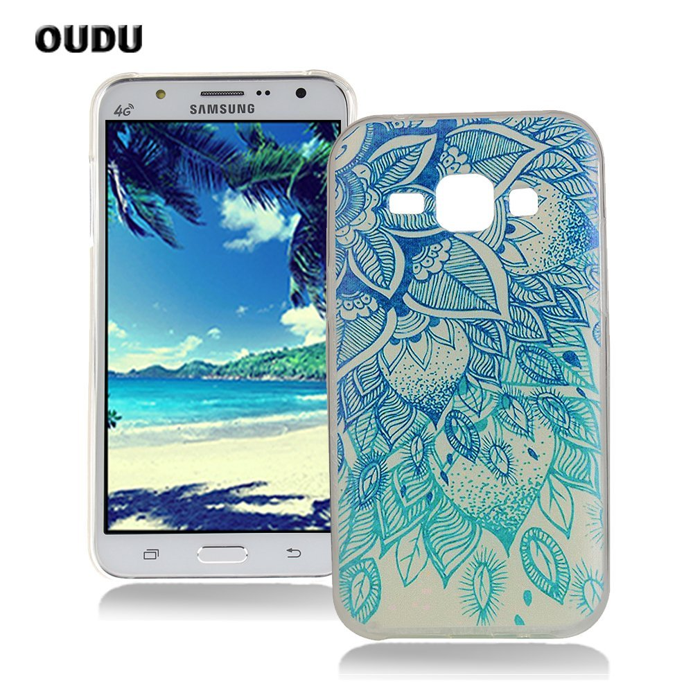 Amazon.com: OuDu Silicone Case for Samsung Galaxy J5 Soft ...